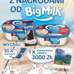 Konkurs Big Milk w sklepach Stokrotka