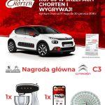 Konkurs w sklepach Chorten – wygraj Citroena C3