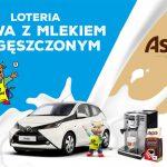 Loteria Kawa z mlekiem zagęszczonym SM Gostyń i Astra