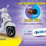 Loteria Milka i Oreo w Carrefour
