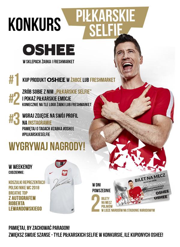 6c9f92b1f Konkurs piłkarskie selfie z OSHEE w Żabka i Freshmarket | Zgarniajto.pl