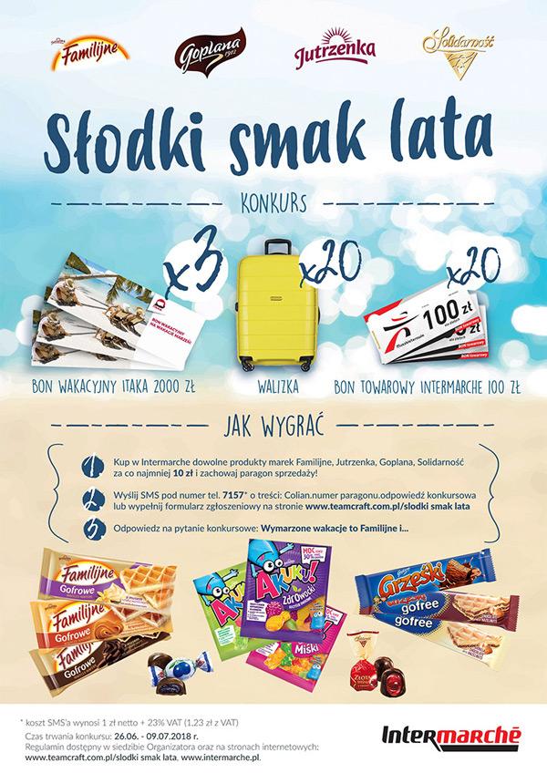 Konkurs Słodki smak lata w Intermarche