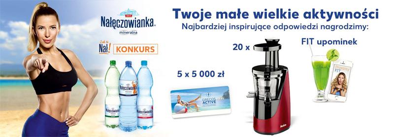 Konkurs Nałęczowianka w sklepach Kaufland