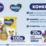 Konkurs BoboVita, Nivea Baby i Bebilon w Tesco