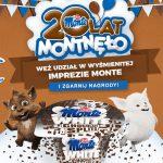 Konkurs urodzinowy 20 lat Monte