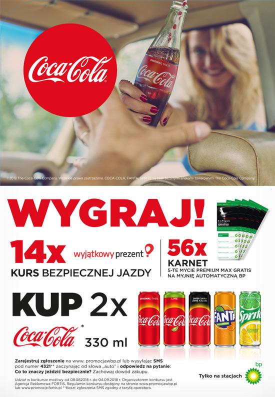 Konkurs Coca-Cola na stacjach BP