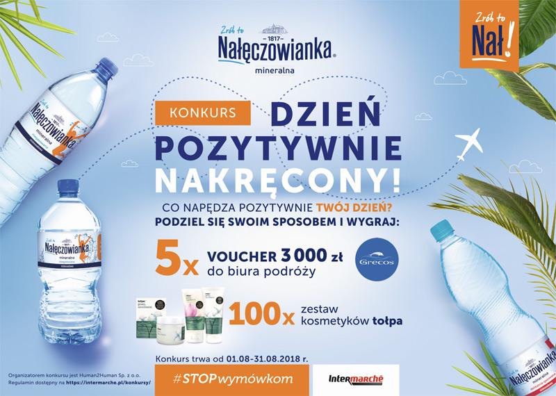 Konkurs Nałęczowianka w Intermarche