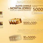Loteria Ferrero Rocher Złote chwile w Nowym Jorku