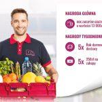 Wygraj rok zakupów z dostawą do domu na Frisco.pl