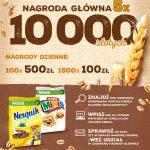 Loteria pełna złotych w płatkach Nestle