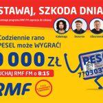 Loteria Twój Szczęśliwy PESEL w RMF FM 2018