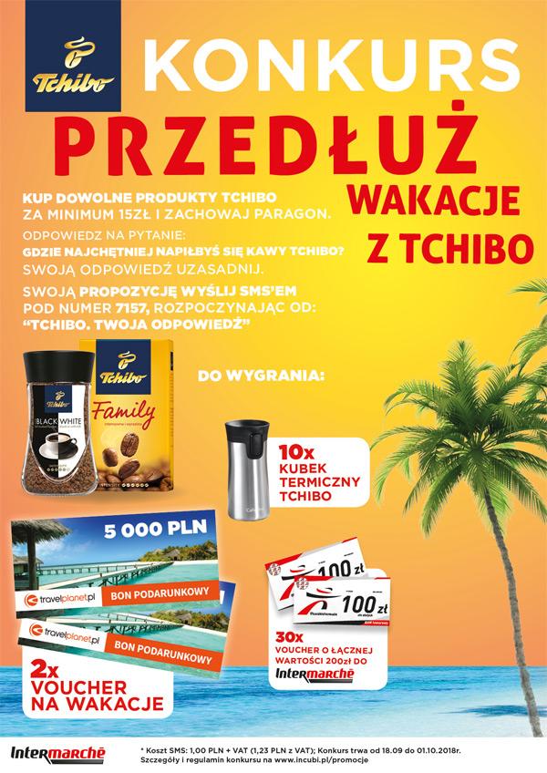 Konkurs Przedłuż wakacje z Tchibo w Intermarche