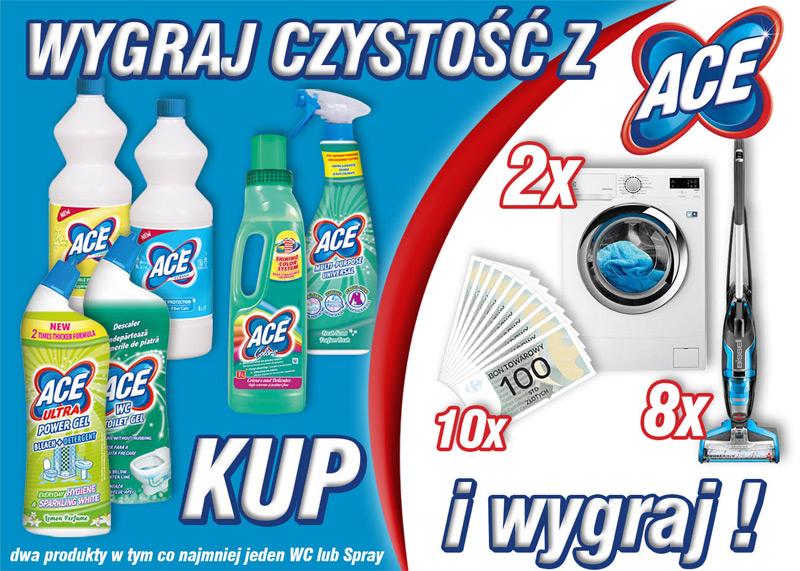 Konkurs Wygraj czystość z ACE w Carrefour
