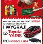Świąteczna loteria Coca-Cola w sklepach Biedronka