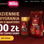 Loteria MK Cafe w sklepach Mila