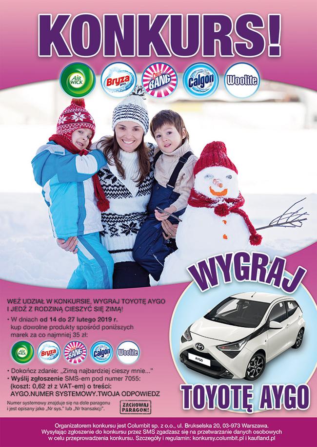 Konkurs Jedź z rodziną cieszyć się zimą w Kaufland