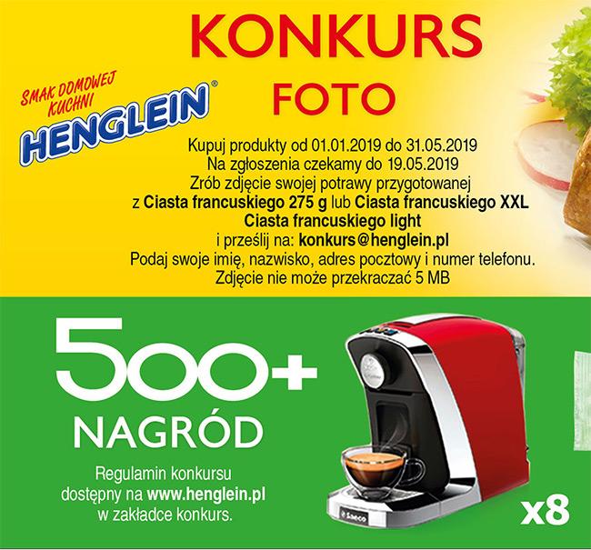 Konkurs fotograficzny Henglein