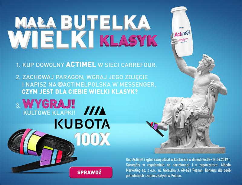 Konkurs Actimel i Kubota w Carrefour