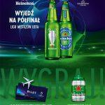 Loteria Heineken w Carrefour – wyjedź na półfinał