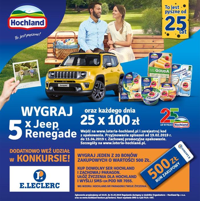 Konkurs Hochland w Leclerc
