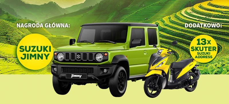 Loteria Kamis 2019 – graj o Suzuki