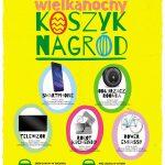 Loteria Wielkanocny Koszyk Nagród w sklepach Groszek