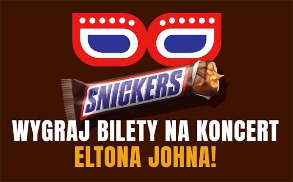 Konkurs Snickers – wygraj bilety na Eltona Johna