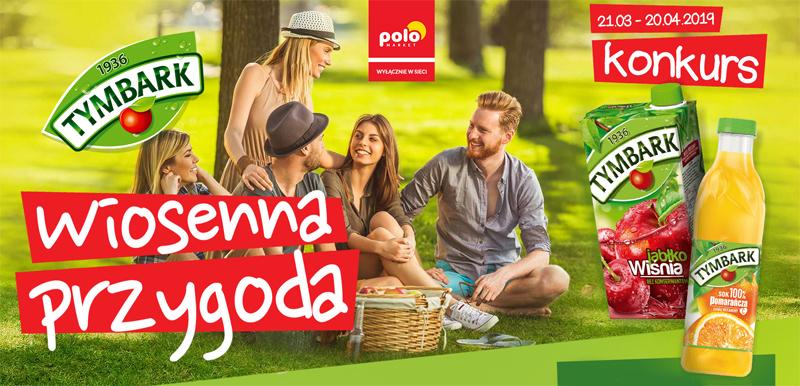 Konkurs Wiosenna Przygoda z Tymbark w POLOmarket