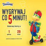Loteria Danonki – wygrywaj co 5 minut