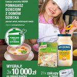 Konkurs Święta ze smakiem Knorr i Hellmann's w Tesco