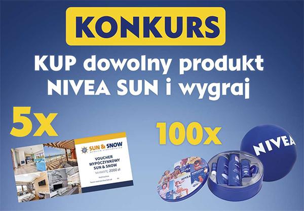 Konkurs NIVEA SUN w Kaufland