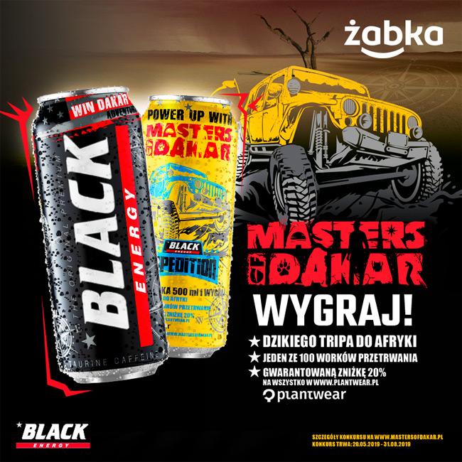 Konkurs Black Masters of Dakar w sklepach Żabka