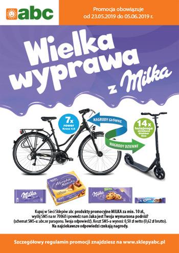Konkurs Wielka wyprawa z Milka w ABC