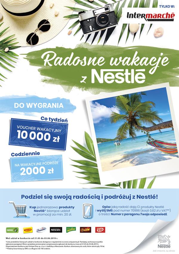 Konkurs Radosne Wakacje z Nestle w Intermarche