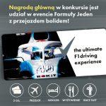 Konkurs Rexona – Formuła na jazdę bolidem