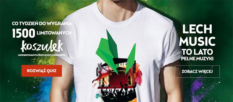 Konkurs Lech Music 2019 – wygraj koszulkę festiwalową