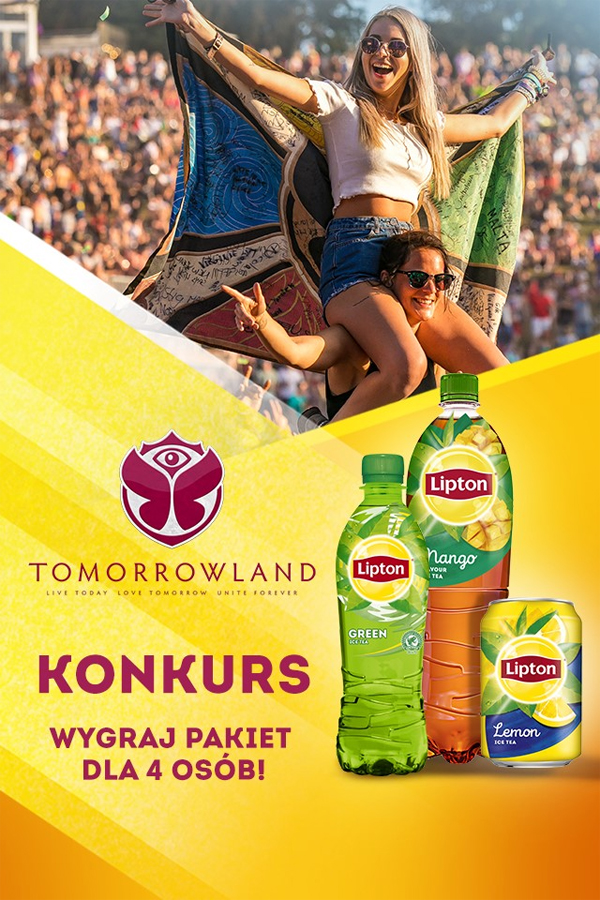 Konkurs Lipton Tomorrowland