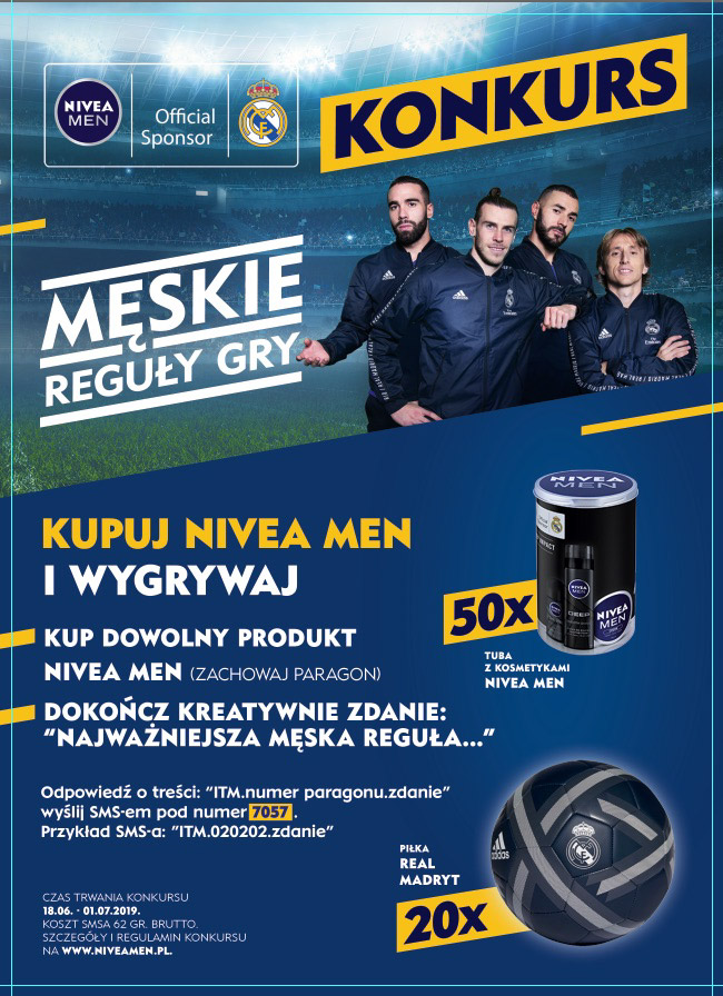 Konkurs NIVEA MEN – męskie reguły gry w Intermarche
