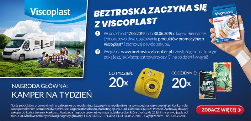 Konkurs fotograficzny Viscoplast w sklepach Biedronka